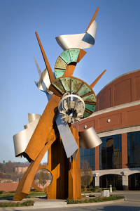 """Hallelujah"" sculpture by Albert Paley. (Photo: Paley Studios Archive)"