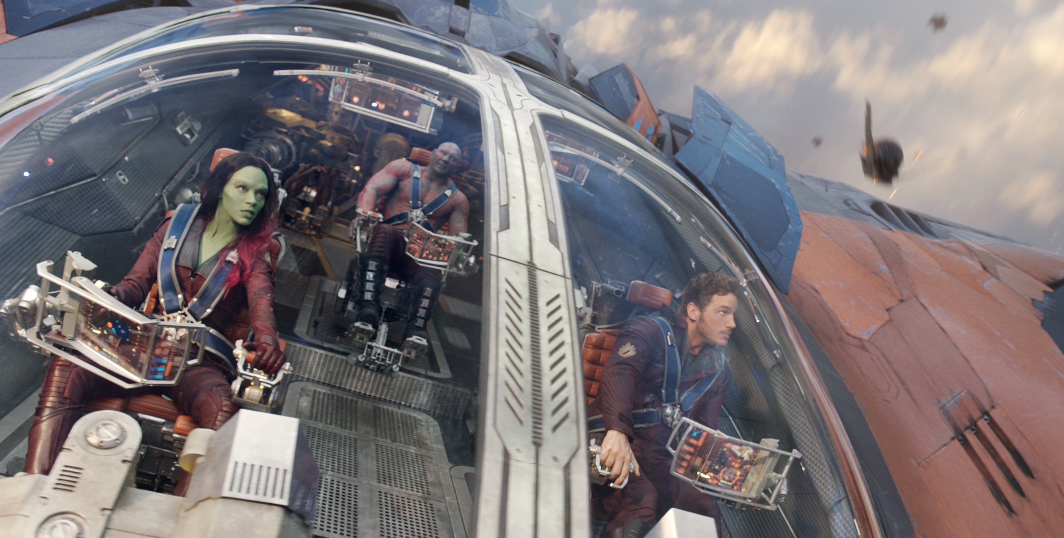 """Guardians of the Galaxy"" zoomed back into first place after two weeks in second. (Photo: Marvel)"