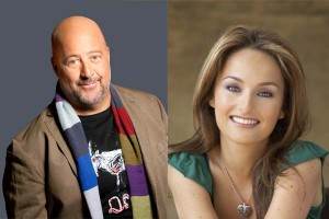 Andrew Zimmern and Giada De Laurentiis will be at Strathmore's Appetitie Festival this weekend. (Photos: Strathmore)
