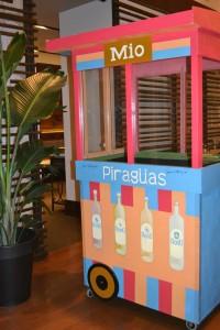 Mio's piragua cart. (Photo: Mio)