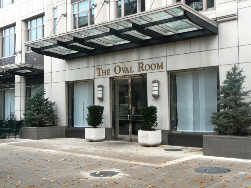 The Oval Room reopens Monday after being closed a month to remodel and rework the menu. (Photo: Cityseeker)