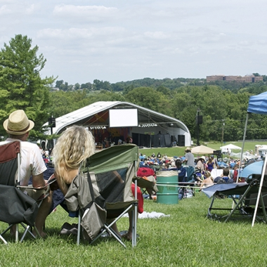 The Hot August Music Festival features blues and roots music. (Photo: Tim Newby)