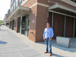 Owner John Andrade in front of Brookland Pint. (Photo: Popville)