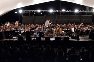 The National Symphony Orchestra performs at a previous Labor Day concert. (Photo: National Symphony Orchestra)