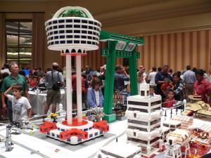 A Moon Base built out of Legos at the 2012 BrickFair. (Photo: BrickFair)