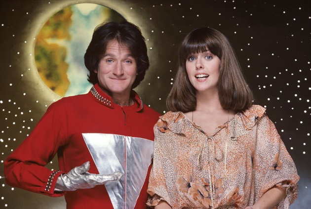 "Robin Williams starred with Pam Dawber in ""Mork & Mindy."" (Photo: ABC)"