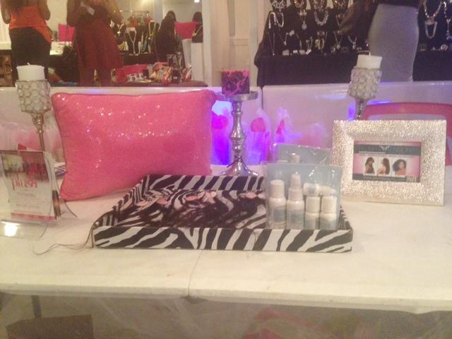 Plush Beauty Box display (Photo: Lia Phipps/DC on Heels)