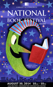 The National Book Fair comes to the Walter E. Washington Convention Center on Saturday. (Graphic: Library of Congress)