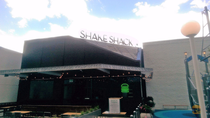 Shake Shack will open Monday at the Plaza at Tysons Corner Center. (Photo: Burger Days)