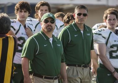 Michael Chiklis (center-left) and Jim Caviezel (center-right)