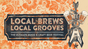 Local beers and bands are on tap at the Fillmore. (Graphic: Fillmore)
