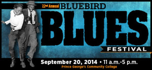 The 22nd annual Bluebird Blues Festival returns to Prince George's Community College. (Graphic: Prince George's Community College)