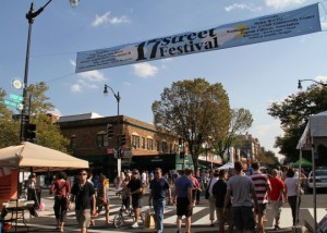The fifth annual 17st Street Festival brings more than 50 artist, musicians and local organizations to the 17th Street NW neighborhood. (Photo: Huffington Post)