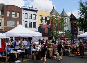 Local businesses saved Adams Morgan Day, but it will be smaller than in previous years.  (Photo: hungrycityblog.com)