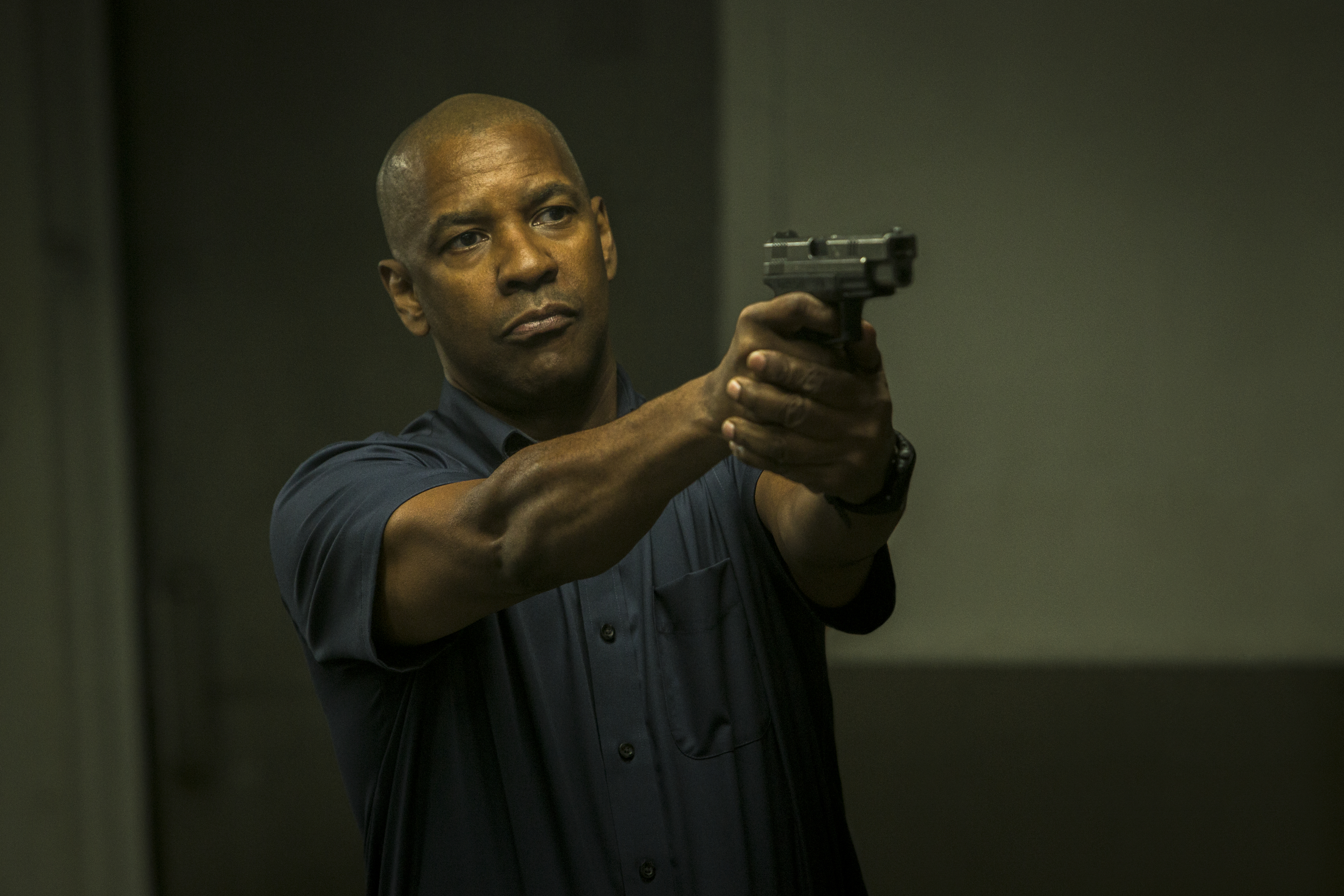 "Denzel Washington  in ""The Equalizer."" (Photo: Scott Garfield/Sony Pictures)"