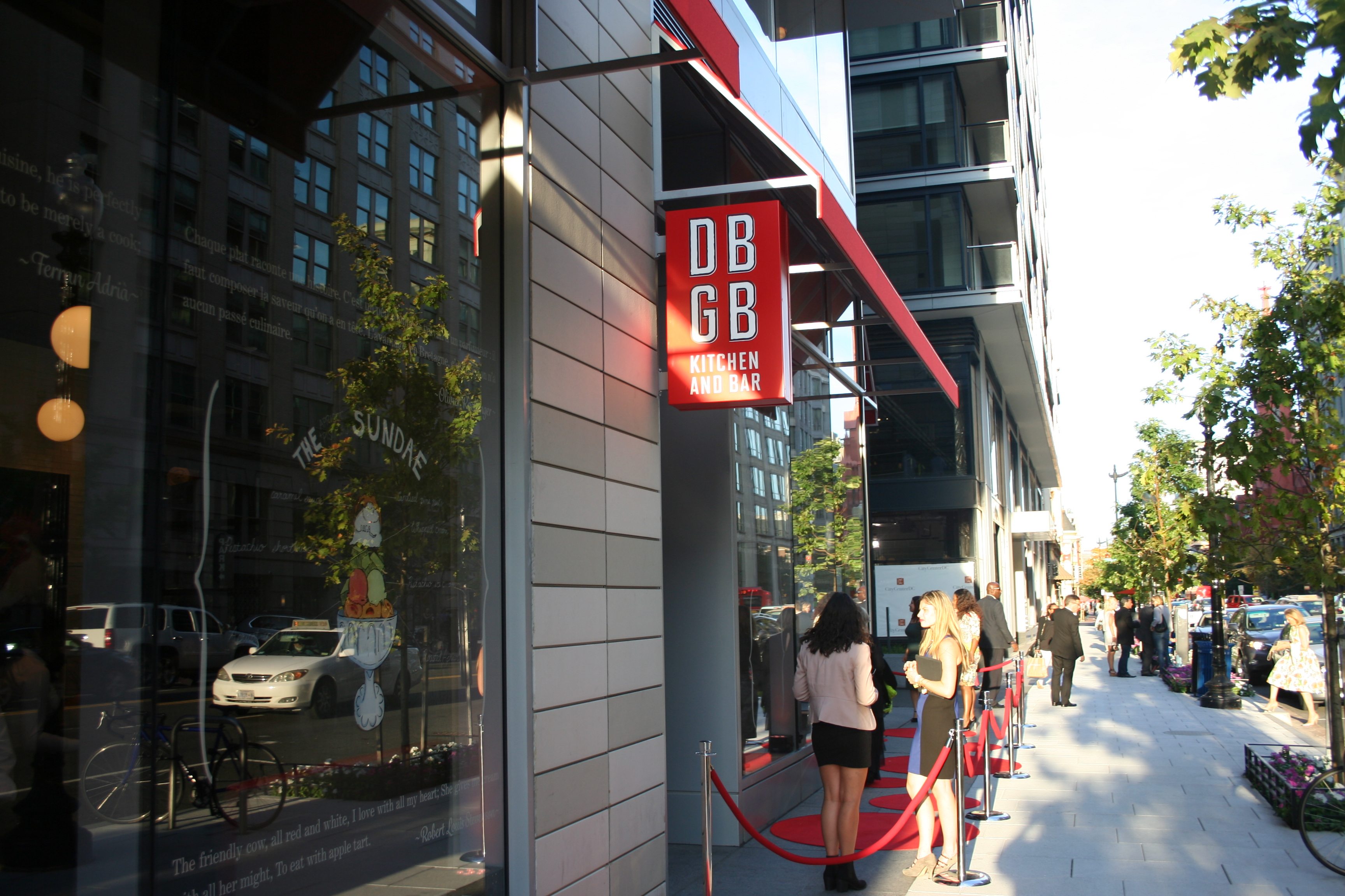 Chef Daniel Boulud opened his DBGB Kitchen and Bar in CityCenterDC earlier this month. (Photo: Mark Heckathorn/DC on Heels)