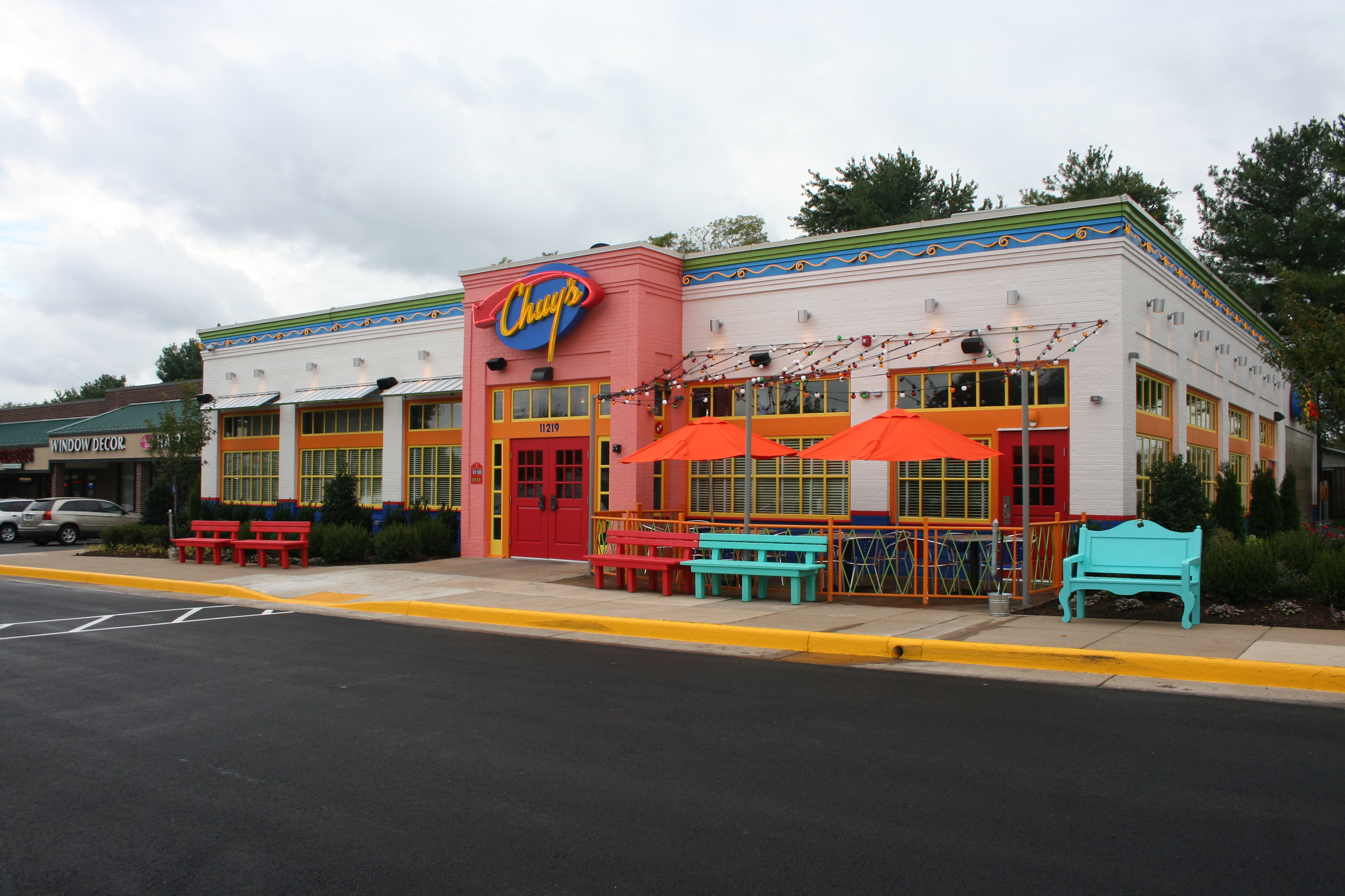 The Chuy's Tex Mex on Lee Highway in Fairfax opens Sept.16. (Photo: Mark Heckathorn/DC on Heels)