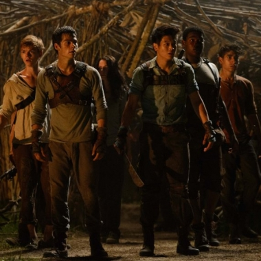 The Gladers react to a surprising development. (Photo: 20th Century Fox)