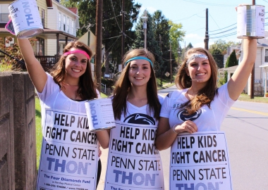 Every year Penn State students raise money to help kids fight cancer. (Photo: Penn State)