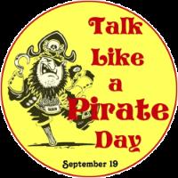 It's Talk Like a Pirate Day in Arrrlington. (Graphic: Wikipedia)