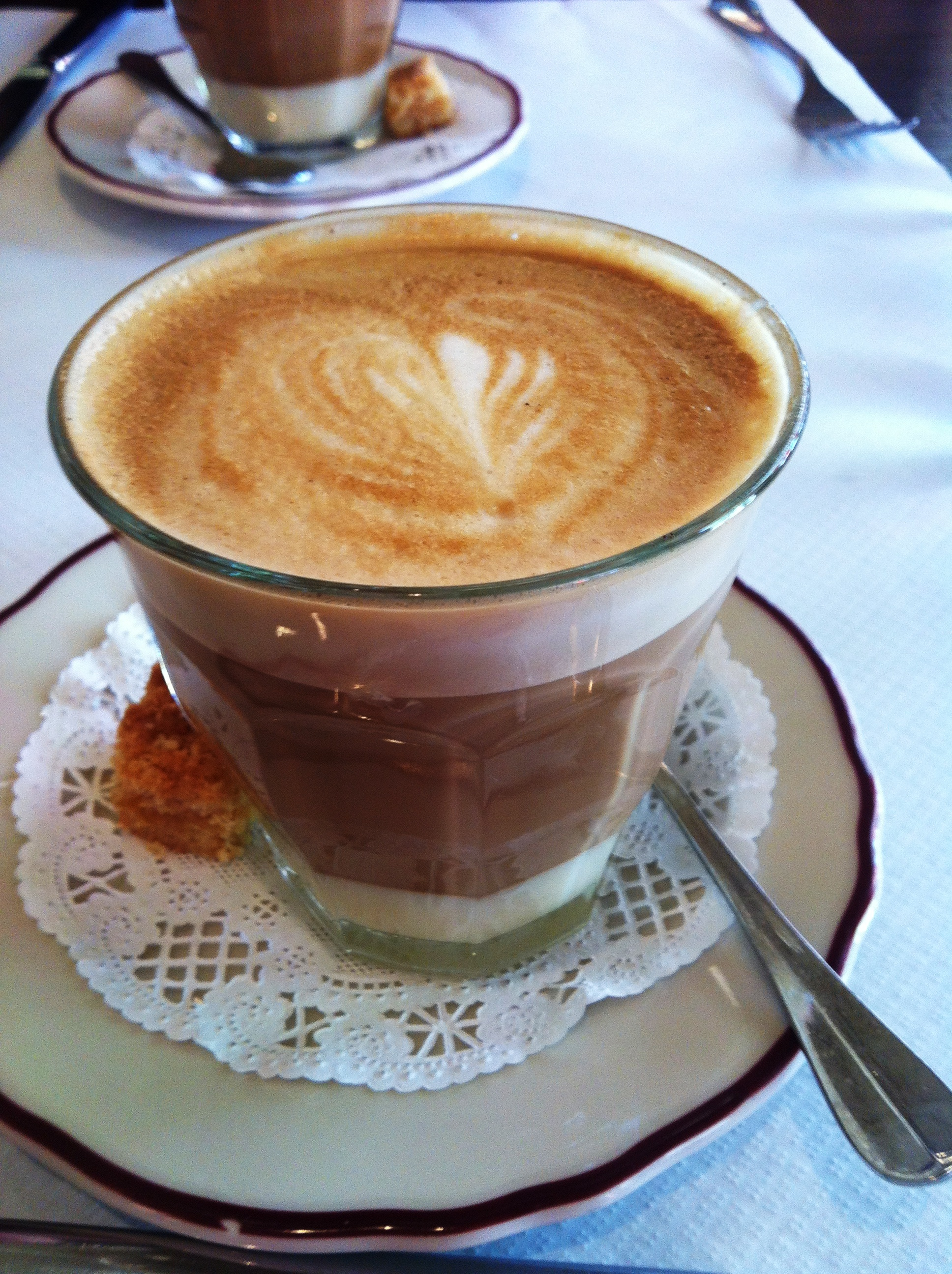 Vietnamese-style coffee at Le Diplomate (Photo: Lanna Nguyen/DC on Heels)