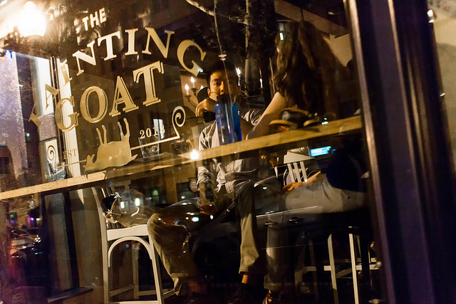 The Fainting Goat on U Street is serving summer specials on Mondays. (Photo: PoPville).