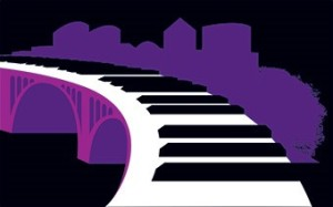 The Rosslyn Jazz Fest is back with jazz, food and fashion trucks, beer and wine. (Graphic: Rosslyn Business Improvement District)