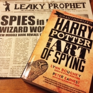 Harry Potter and the Art of Spying mixes the young wizard and espionage. (Photo: International Spy Museum)