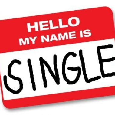 Take the name tag off this week and own the fact that you are single! (Photo: blog.timesunion.com)