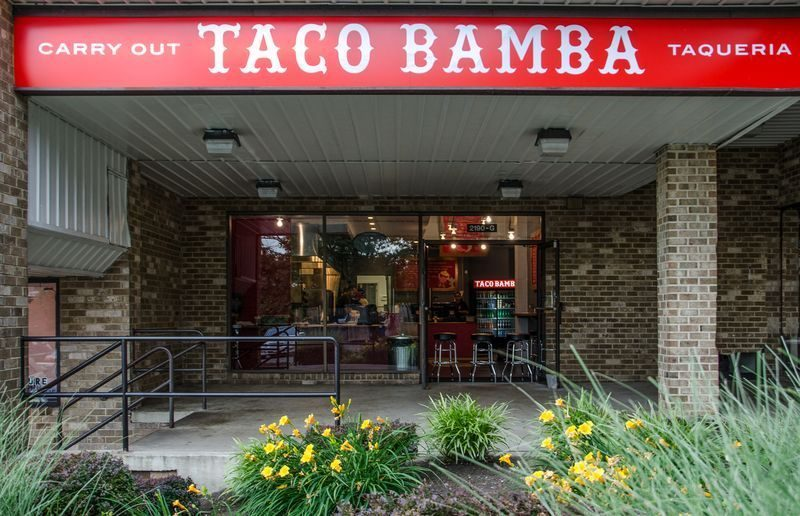 Taco Bamba in Falls Church is celebrating National Hispanic Heritage Month. (Photo: Eater)