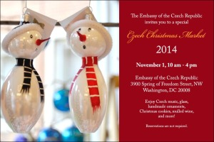 Get a jump on your Christmas shopping at the Embassy of the Czech Republic. (Photo: Embassy of the Czech Republic)