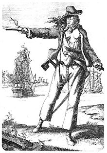 The infamous pirate Anne Bonney was never without her blunderbuss (Image: Wikipedia)