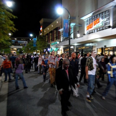Silver Spring's Zombie Walk and dance will happen Saturday night. (Photo: The Spider Hill/Flickr)