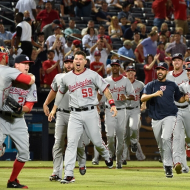 The Nationals take on the Giants in the first two games of the National League Division Series playoff this weekend. (Photo: Washington Nationals)