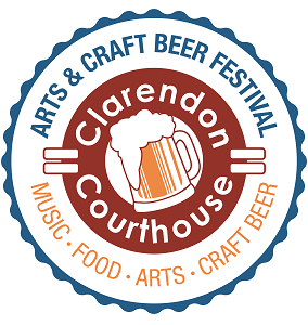The Courthouse Arts & Craft Beer Festival will go on Sunday, rain or shine. (Graphic: Clarendon Alliance)