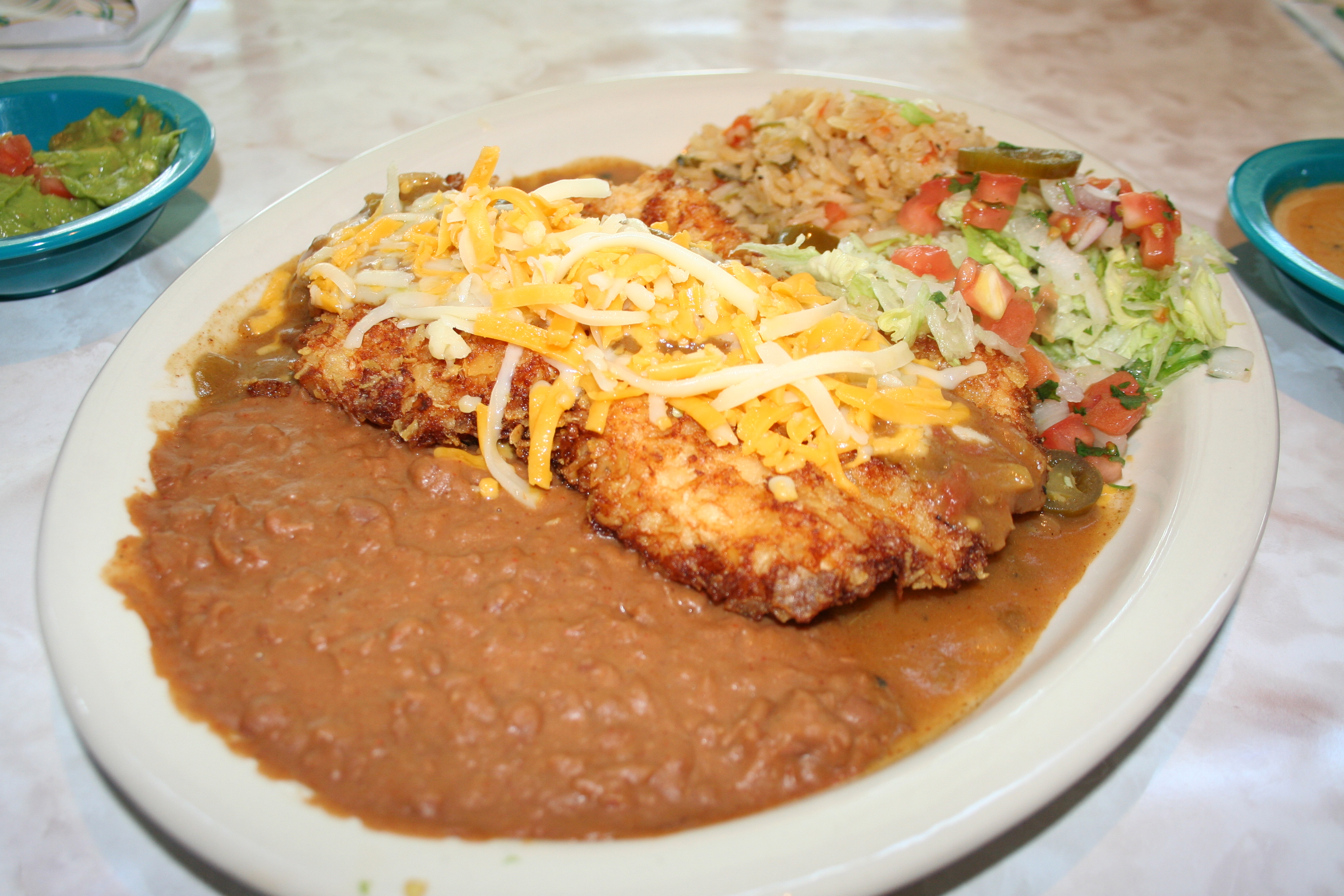 The Elvis Green Chile Fried Chicken (Photo: Mark Heckathorn/DC on Heels)