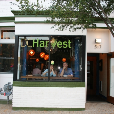 Brothers Arthur and Jared Ringel opened DC Harvest, which uses mostly domestic ingredients, in mid-September on H Street NE. (Photo: Mark Heckathorn/DC on Heels)