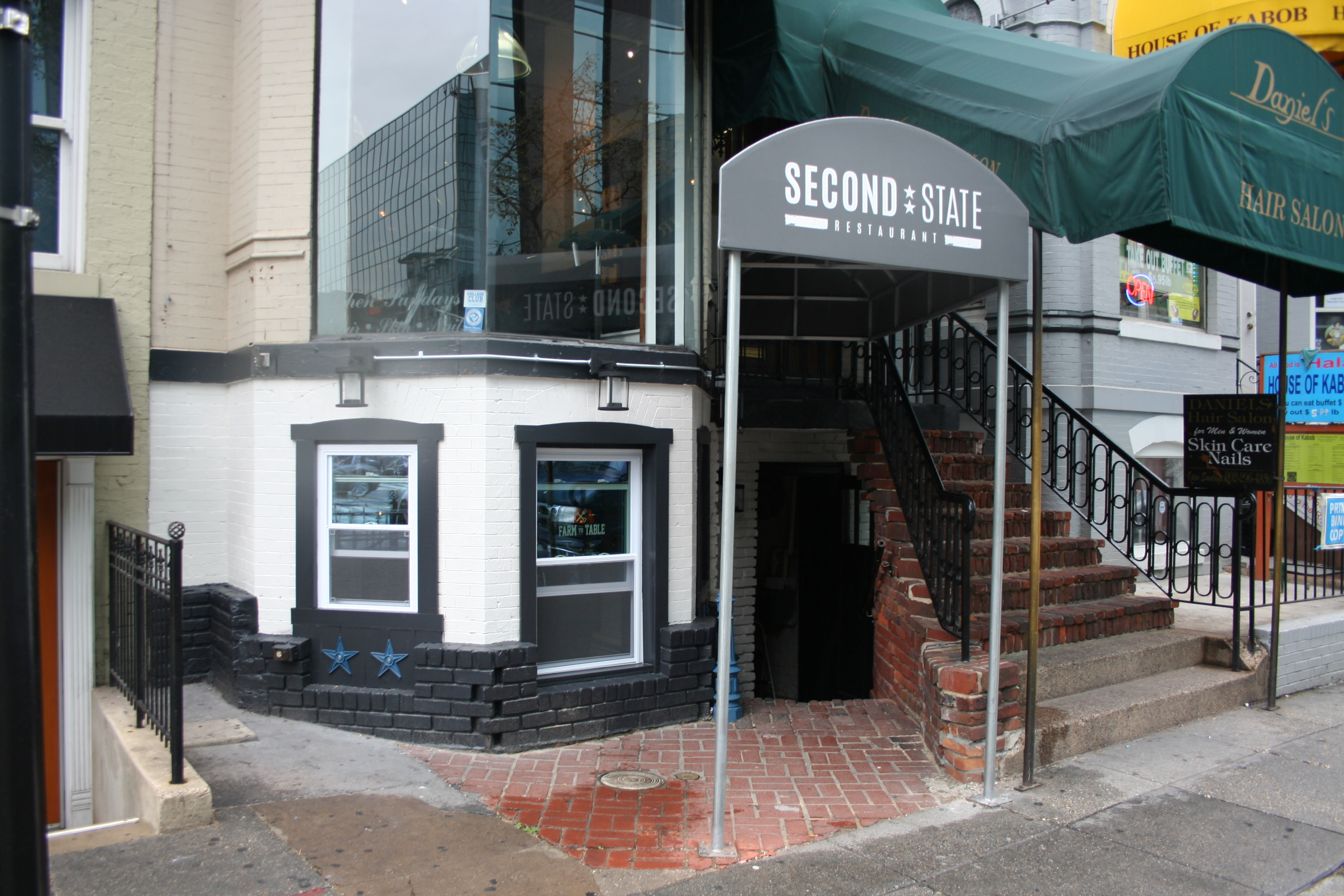 Second State is a Pennsylvania themed restaurant in Farragut. (Photo: Mark Heckathorn/DC on Heels)