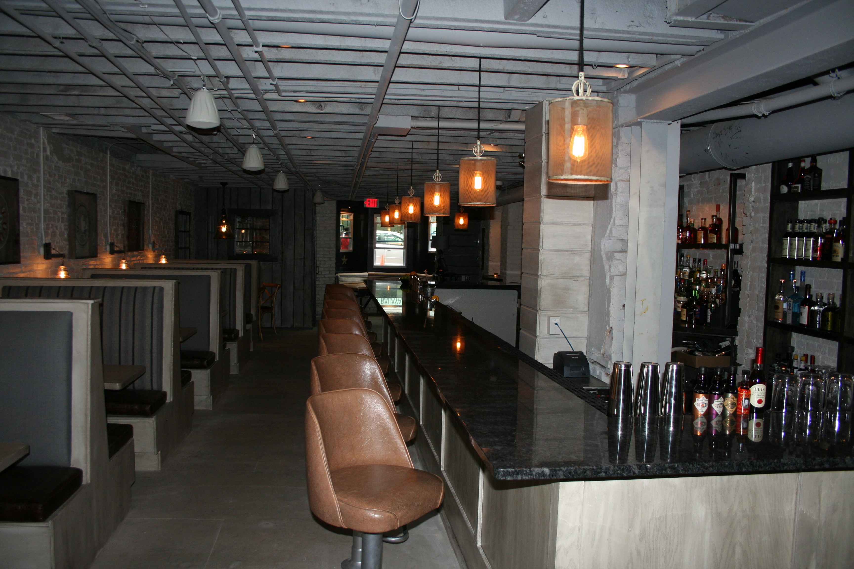 The bar at Second State. (Photo: Mark Heckathorn/DC on Heels)