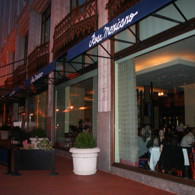 Rosa Mexicano is celebrating its 30th anniversary, including the Chinatown location. (Photo: Mark Heckathorn/DC on Heels)