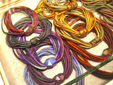 Alexandria artist Susan Sanders will be selling her bracelets at the Smithsonian's Crafts 2 Wear. (Photo: Susan Sanders)