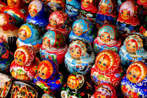 Russian nesting dolls will be on sale at St. John's Russian Bazaar. (Photo: Alex Naxim/Word of Images)