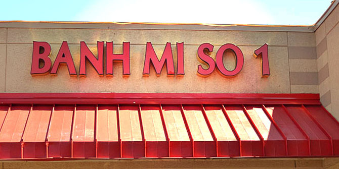 Banh Mi So 1 in Seven Corners (Photo: Eden Center)