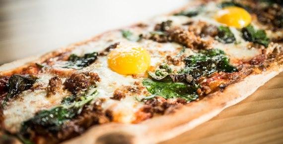 Farmer's Daughter pizza at & Pizza (Photo: Bozzuto)