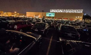The drive-in returns to Union Market this month with <em>Rushmore</em> tonight. (Photo: Union Market)