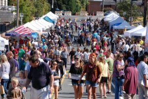 Celebrate fall in Fairfax with artists, food, a beer garden, music and amusement rides. (Photo: Patch)