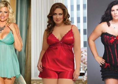Baby doll, camisole and corset lingerie can bring out the best in your body type. (Photos: Lingerie Diva)