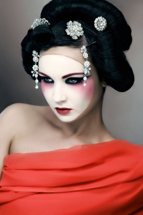 a modern twist on the geisha photo jim crone