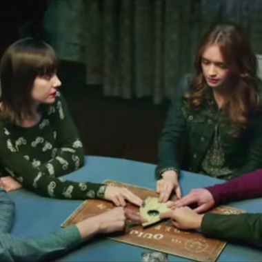 Five teens contact evil spirits that killed their friend using a ouija board in