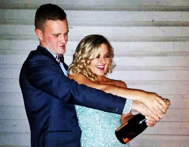 The newly engaged couple. (Photo: Christina Panta/DC on Heels)